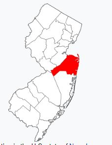 Map Monmouth County