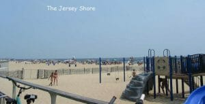 Belmar NJ beach