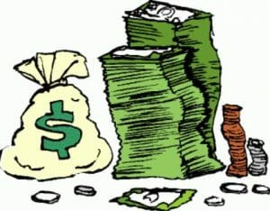 reduce cash at closing
