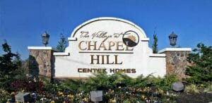 Village Chapel Hill Middletown sign