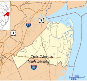 Homes for sale in Oak GLen Howell map