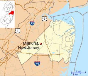 Millhurst Manalapan homes for sale map
